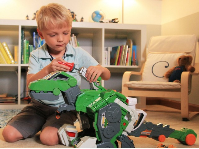 VTech Switch & Go Dinos   Jagger The T Rex Dinosaur Only $31.49 (Reg. $70!) + FREE shipping!