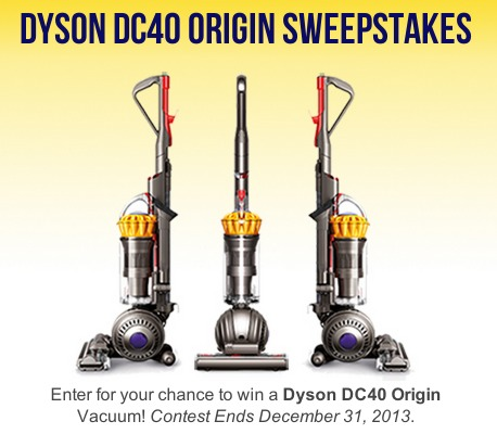 enter to win a dyson dc40 vacuum last day. Black Bedroom Furniture Sets. Home Design Ideas