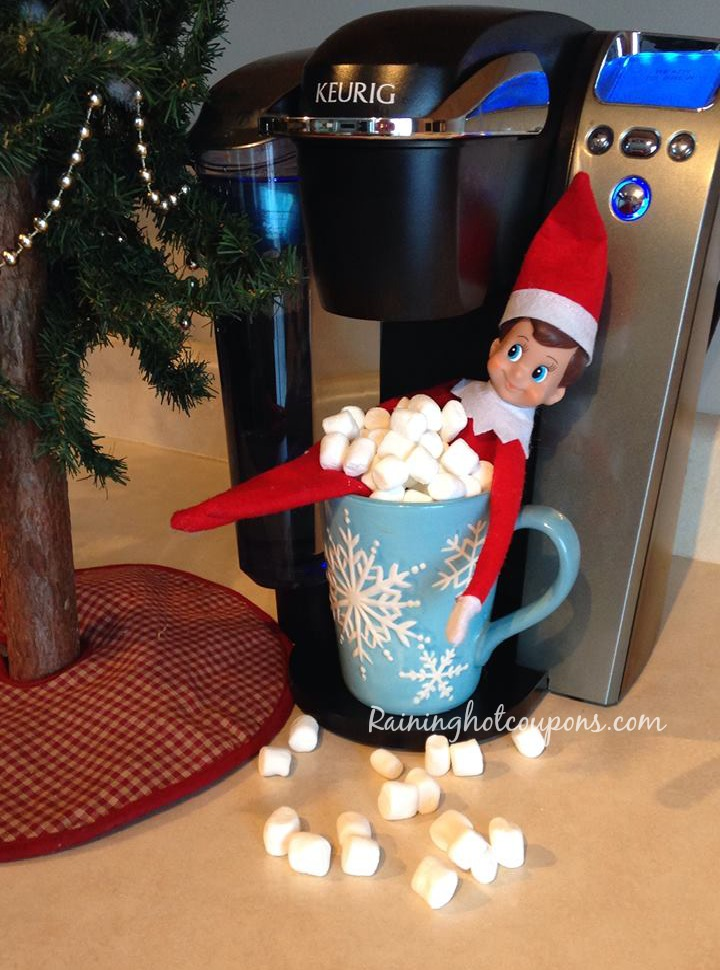 elf on the shelf ideas Elf on the Shelf Ideas: Elis Activity Last Night 12/6