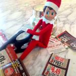 Elf on the Shelf Ideas: Elfy's Activity Last Night 12/5
