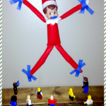 Elf on the Shelf Ideas: Eli's Activity Last Night 12/2 (Plus Buy Your Own and Start a Christmas Tradition!)