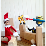 Elf on the Shelf Ideas: Elfy's Activity Last Night 12/2 (Plus Buy Your Own and Start a Christmas Tradition!)