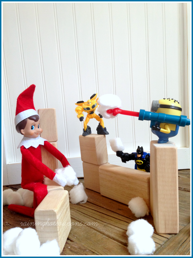 We started the elf on the shelf tradition last year and my kids absolutely LOVED it! We had a lot of fun last year and will be carrying on the tradition again this year with some of .