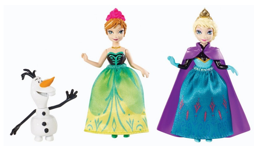 Amazon: Disney Frozen Sisters Giftset Only $12.99 (2 Dolls and an Olaf Figure!)