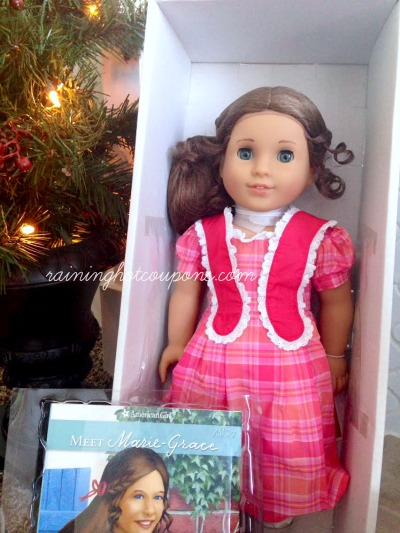 grace 2 Its a Giveaway! Win an American Girl Marie Grace Doll, Hat and Book!