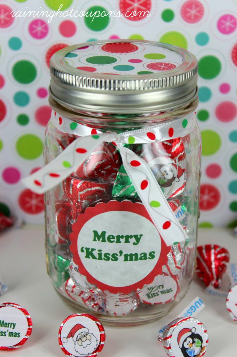 kiss gifts Kissmas Gift in a Jar