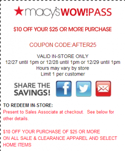Try Unreliable Macys Coupon Codes