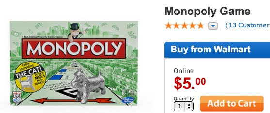 Monopoly Board Game Only $2.00!