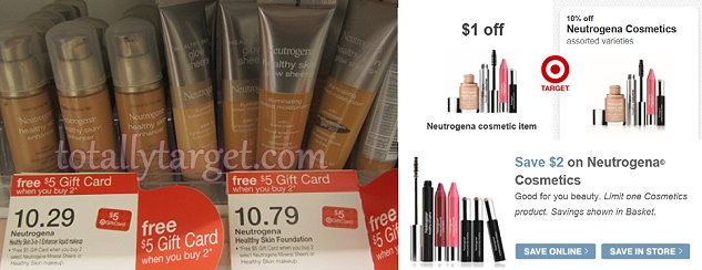 neutrogena Target: Neutrogena Foundation Only $4.41 (Reg. $10.29)