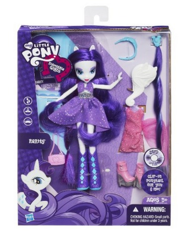 Amazon: My Little Pony Equestria Girls Rarity Doll Only $9.99 (Reg. $21.99)!