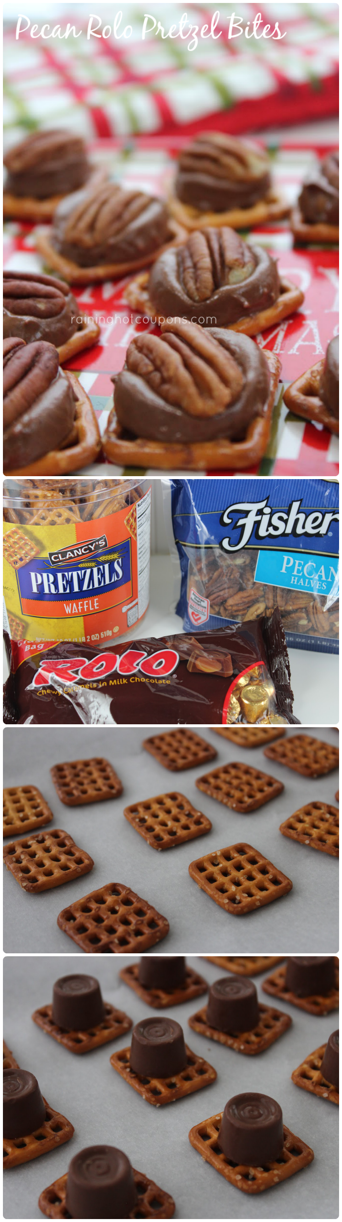 pecan rolo collage