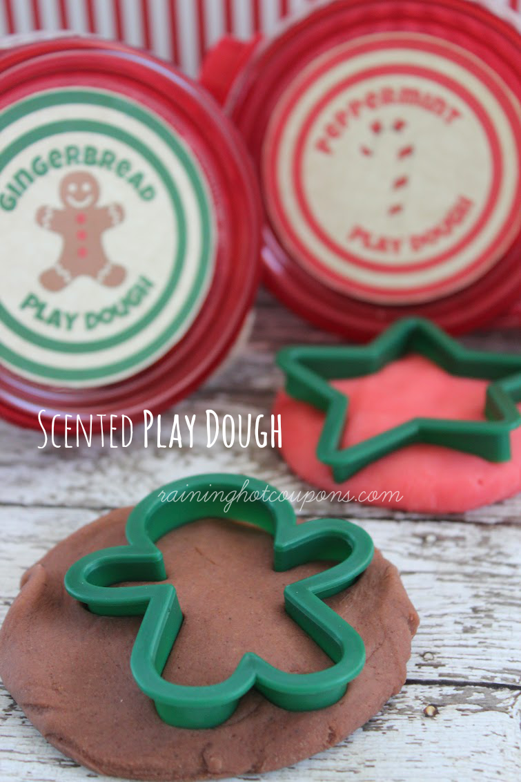 playdough DIY Scented Play Dough (Gingerbread AND Peppermint)
