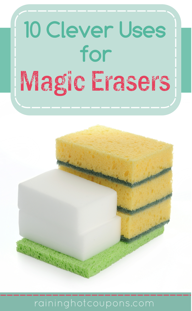 100 Pack of Magic Erasers Only $9.88 + FREE Shipping