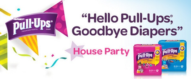 Apply to Host a Huggies Pull-Ups House Party = FREE Pull-Ups