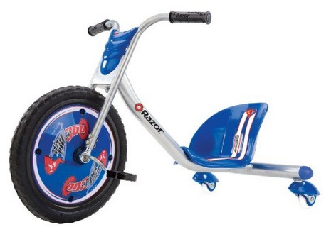 *HOT* Razor RipRider 360 Caster Trike in Blue Only $49 (Reg $120!) + FREE shipping!