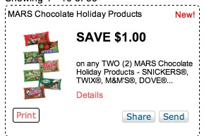 Target: M&M Stocking Stuffers Only $0.40!