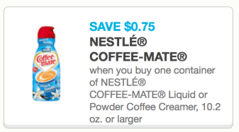 screen shot 2013 12 05 at 6 56 08 pm Coffee Mate Creamer Only $0.49!