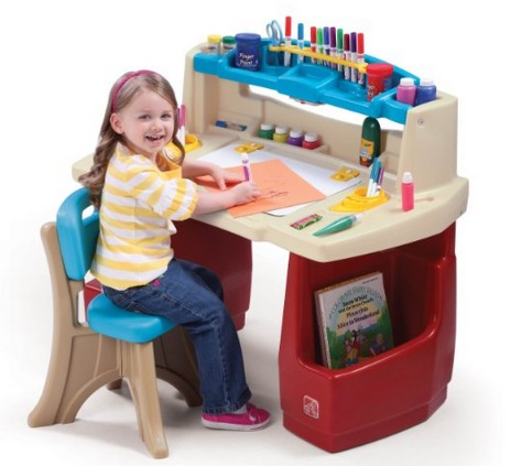 Amazon: Step2 Deluxe Art Master Desk Only $59.99 (Reg. $90!) + FREE Shipping!