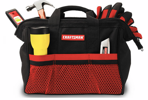 tool *HOT* FREE Craftsman 13 Tool Bag (Or $5 Shipped Without Points) (Reg. $10+)