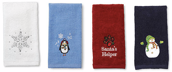 towels FREE Christmas Towels!
