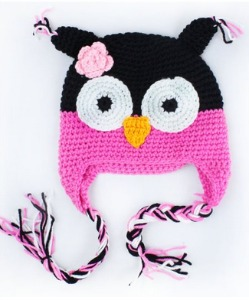 Crochet-Owl-Hat-for-Baby-or-Toddler