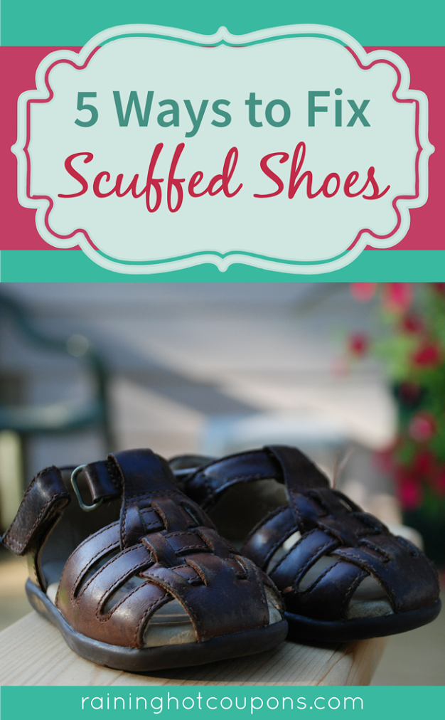 SHOES 5 Ways To Fix Scuffed Shoes