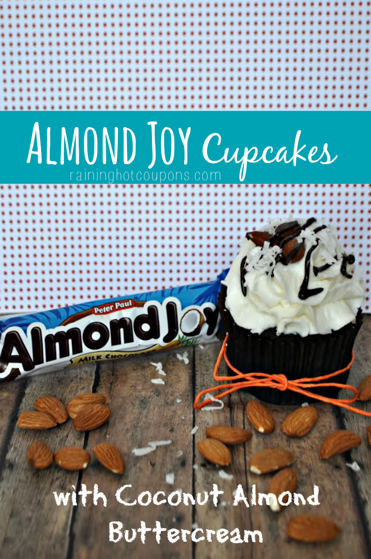 almond job Almond Joy Cupcakes