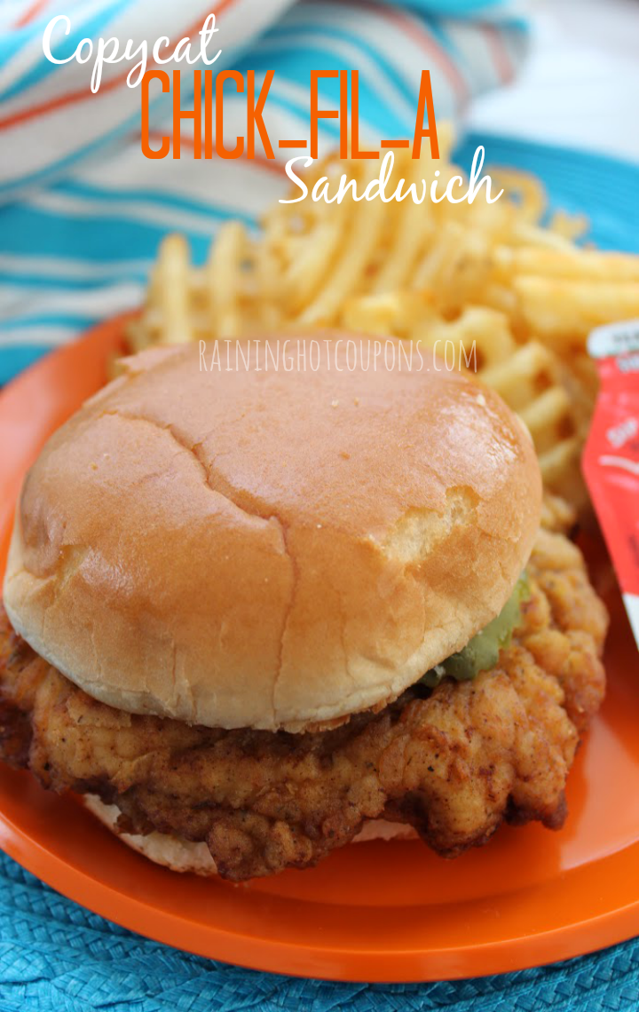 Copycat Chick-fil-A Sandwich - This is the BEST Copycat Chick-Fil-A Recipe ever!