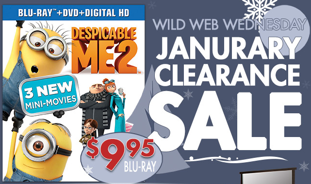 de RC Willey: Despicable Me 2 Blu Ray Combo Pack Only $9.95 (Reg. $29.99)!