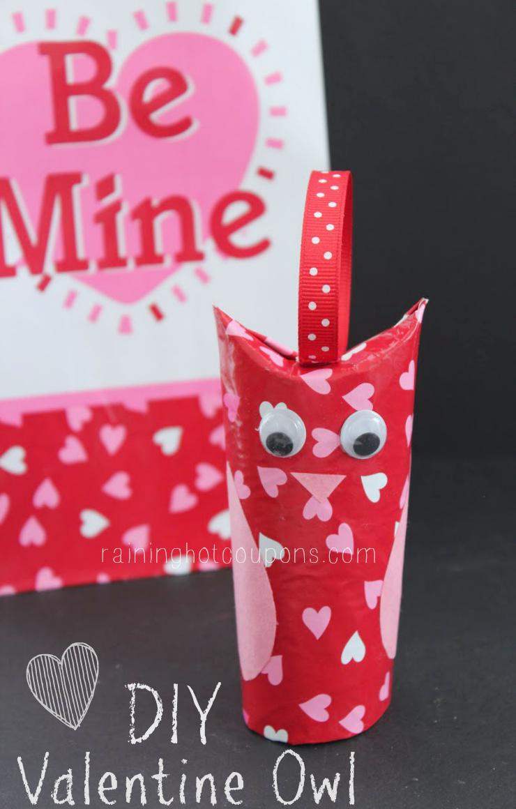 diy valentine owl