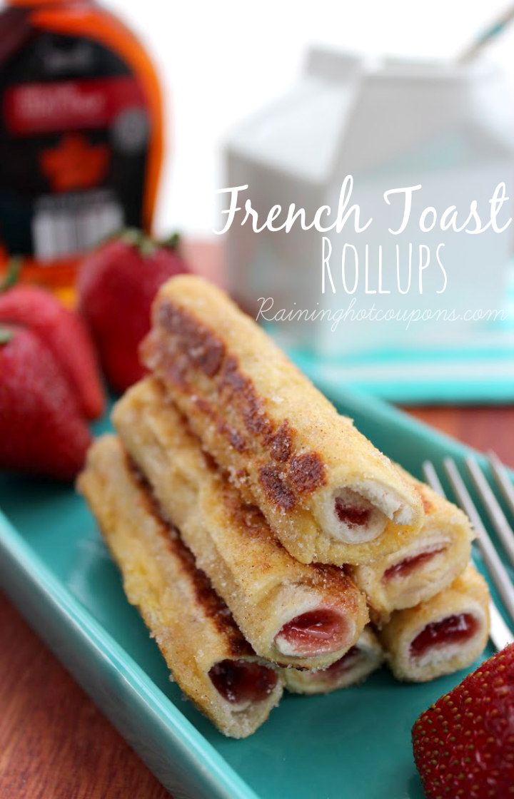 french toast 2 Stuffed French Toast Rollups