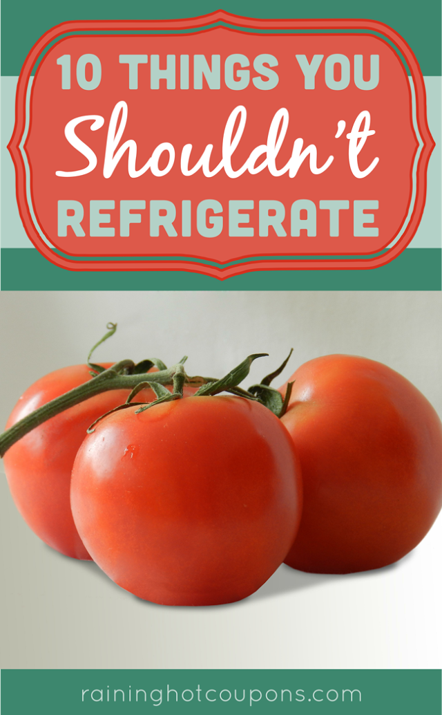 fridge 10 Things You Shouldnt Refrigerate