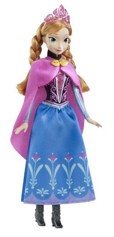 *HOT* Disney Frozen Sparkle Anna of Arendelle Doll Only $12.49 (Reg. $35.00!)