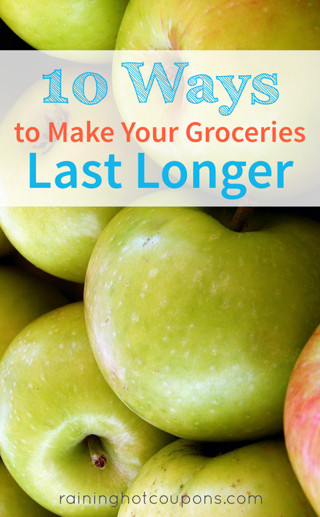 groceries 10 Ways To Make Your Groceries Last Longer
