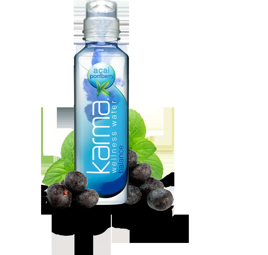xtramart  free bottle of karma wellness water