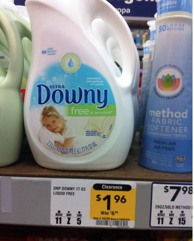 *HOT* Downy Liquid Fabric Softener Only $0.46?! (Reg. $6.98)
