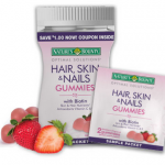 FREE Sample of Nature's Bounty Skin, Hair and Nails Gummie Vitamins