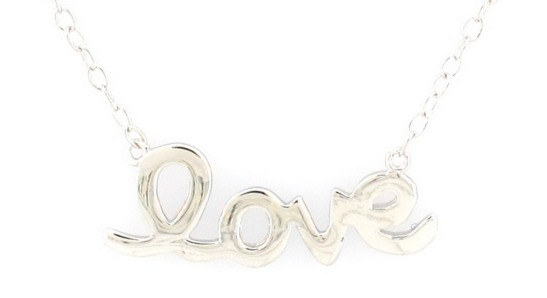 BuyNowOrNever: Sterling Silver Jewelry Sale Only $7 $9 (Reg. $40!) Love Necklace, XOXO for Valentines!