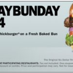 Carl's Jr. and Hardee's: B1G1 FREE Thickburger (1/20 Only)