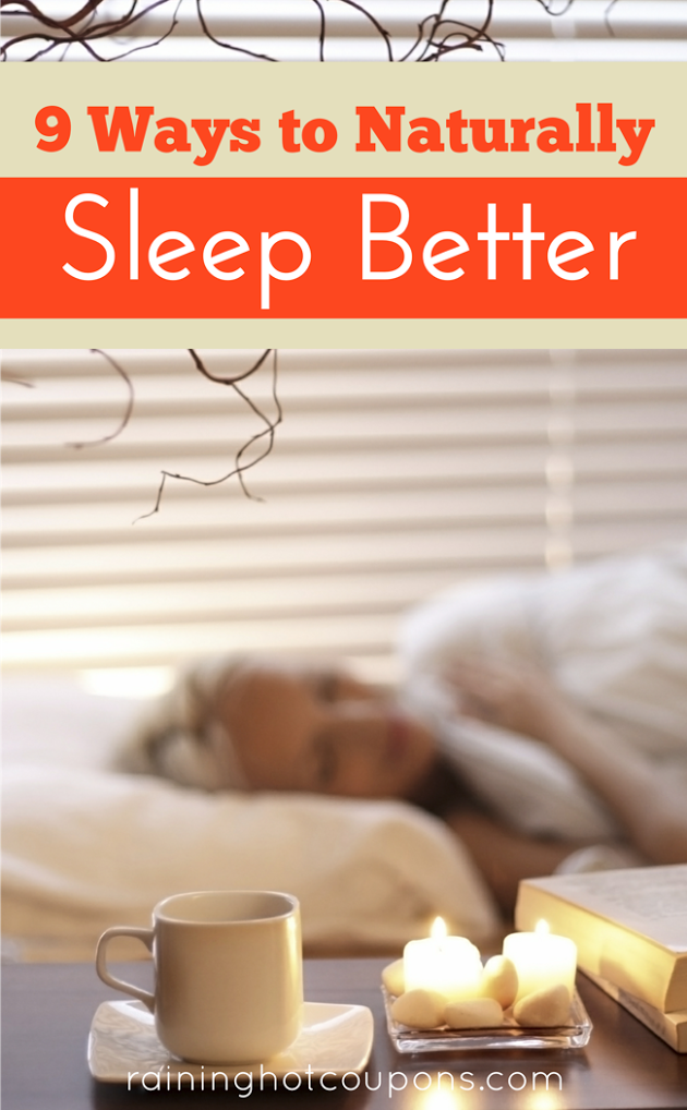 sleep 9 Ways To Naturally Sleep Better
