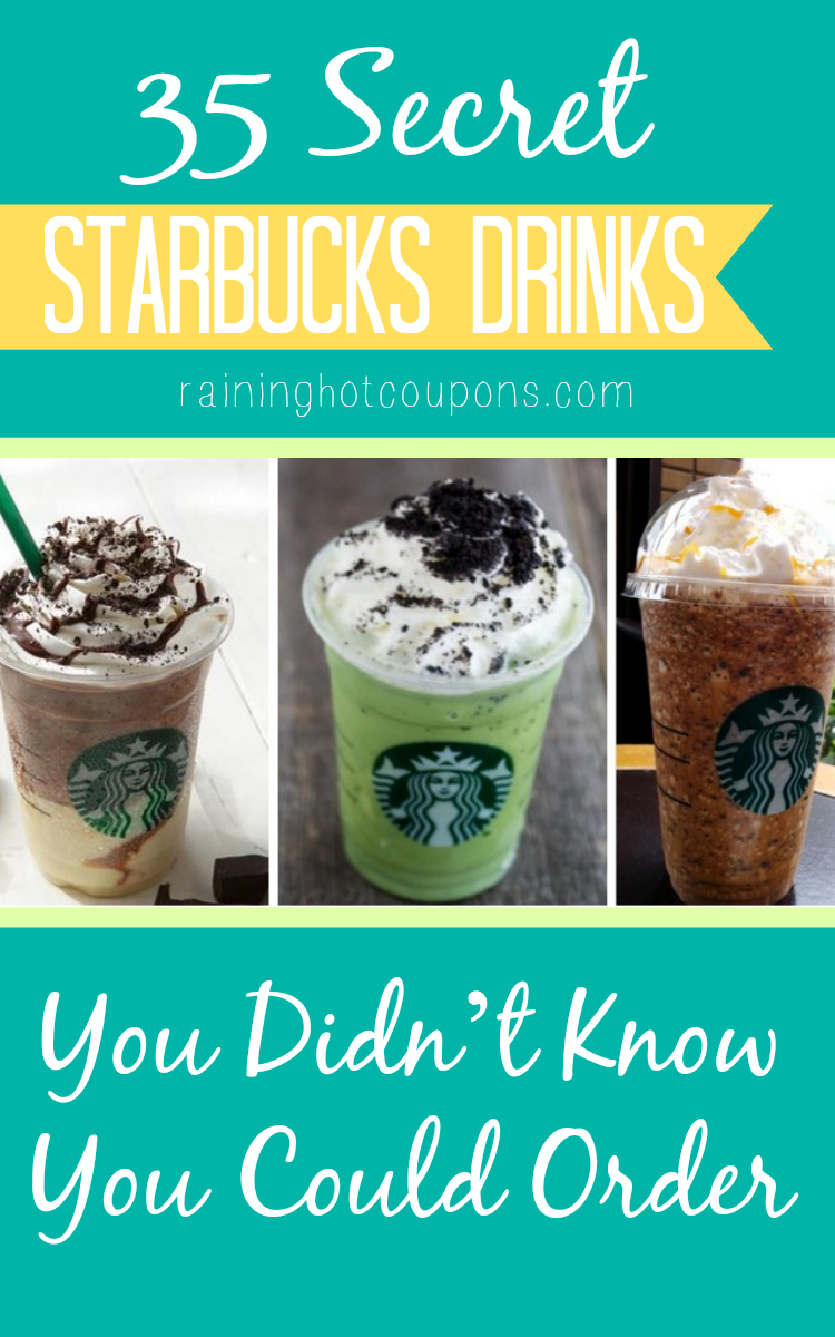 starbucks 35 Secret Starbucks Drinks You Didn't Know You Could Order