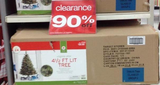 Target: 90% Off Christmas Clearance (Christmas Trees, Decor ...