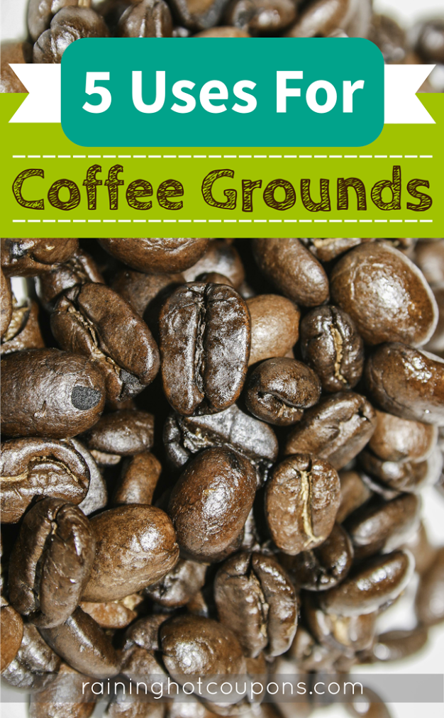 COFFEE 5 Uses For Coffee Grounds