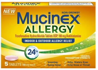MUCINEX COUPON *HOT* FREE Box of Mucinex 24 Hour Allergy (CVS, Walgreens, Rite Aid) $7.50+ Value!