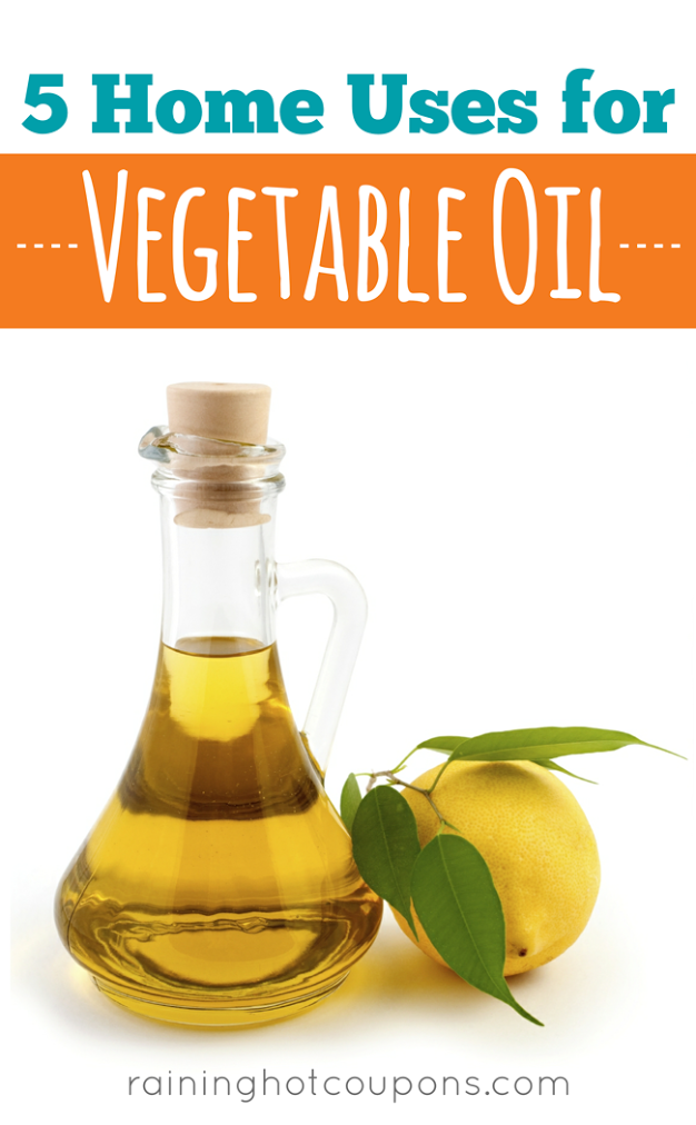 OIL 5 Home Uses For Vegetable Oil