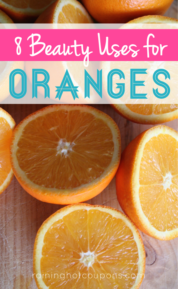 ORANGES 8 Beauty Uses with Oranges