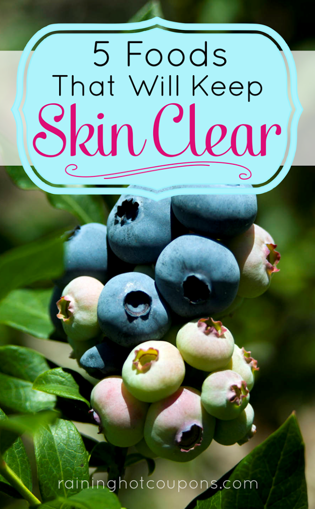 SKIN 5 Foods That Will Keep Skin Clear