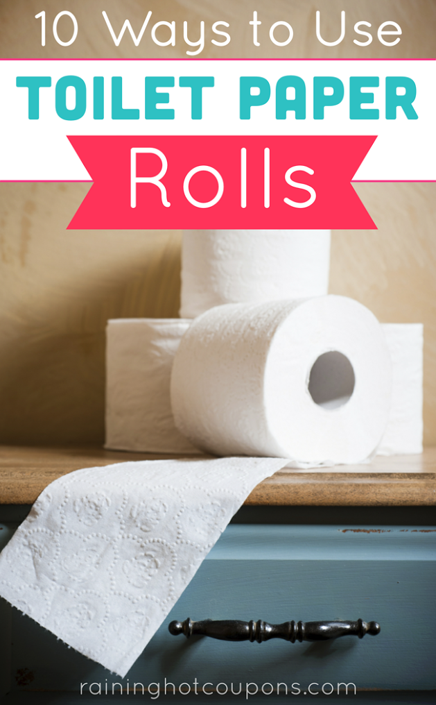 10 ways to use toilet paper rolls