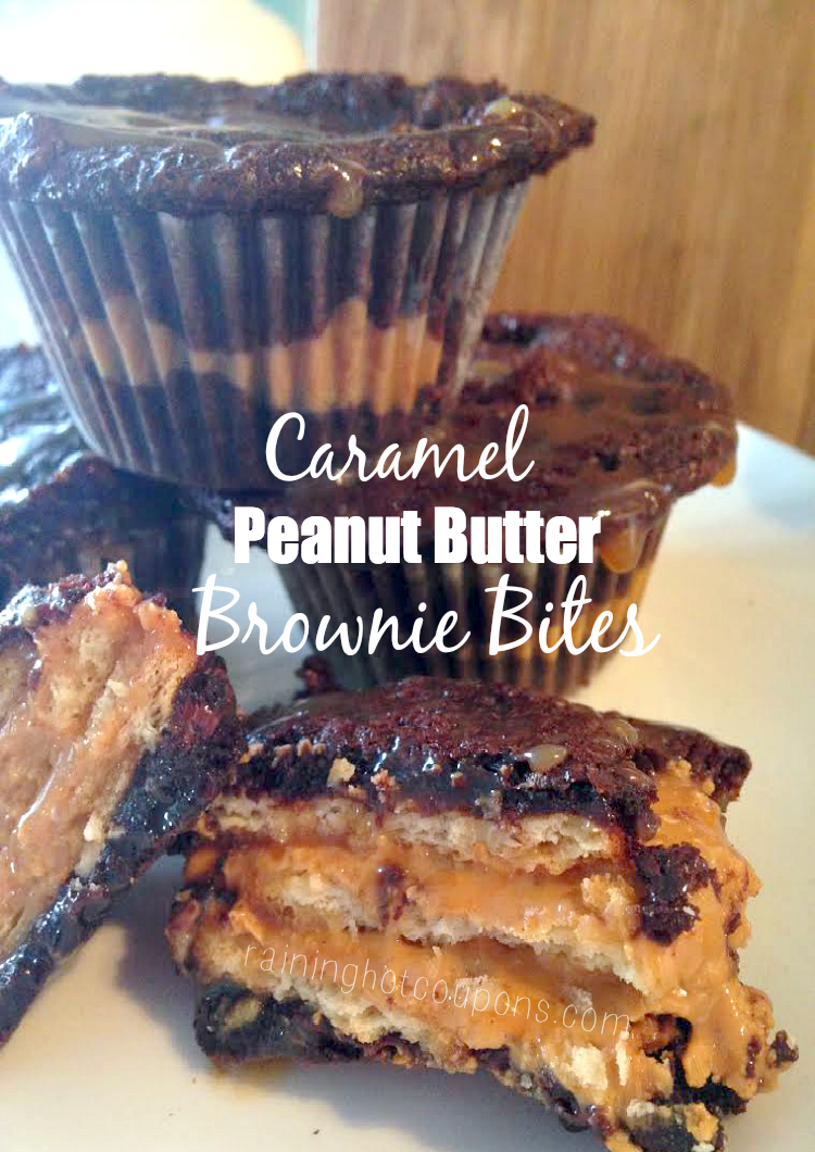 brownie bites.png Caramel Peanut Butter Brownie Bites