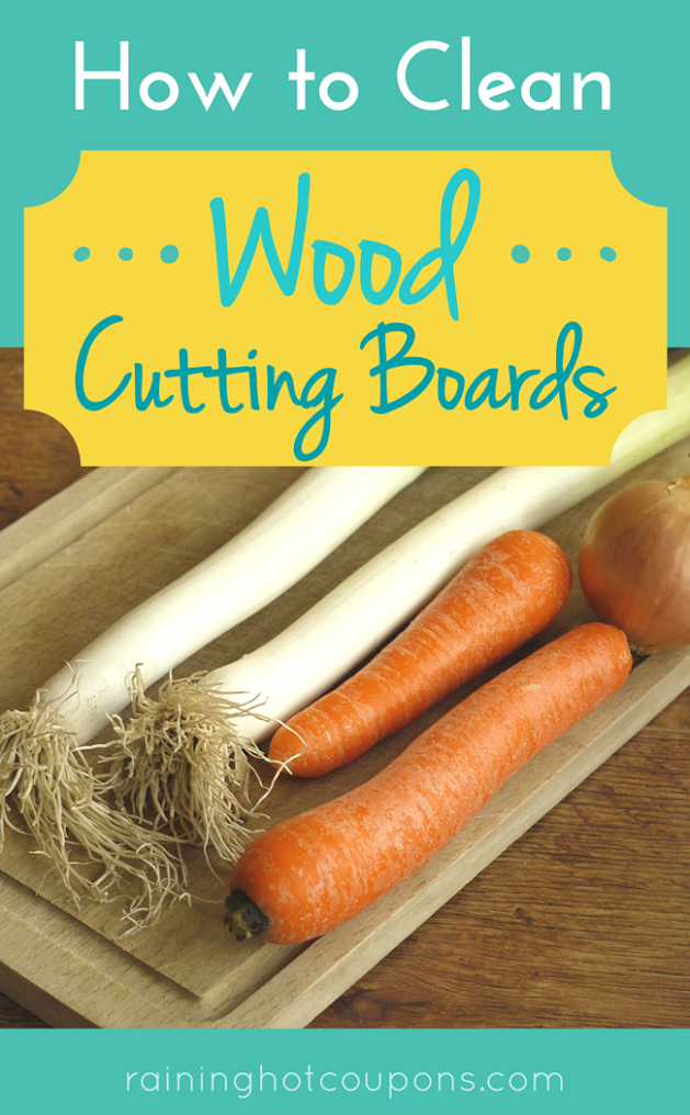 cutting How To Clean Wood Cutting Boards